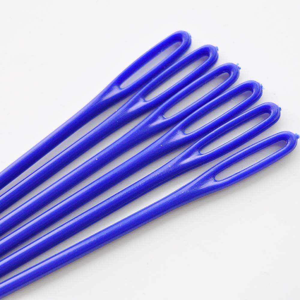 Loose Needles Plastic Needles Royal Blue