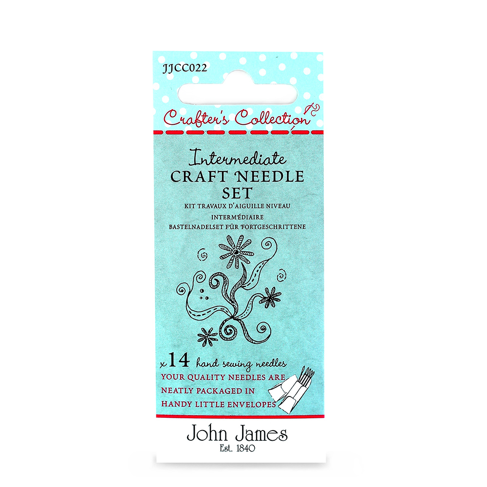Crafters Collection Intermediate Craft Needle Set Asst